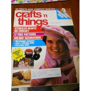 Crafts N Things October 1984 Nancy Tosh Books