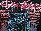 WOW NEAR MINT OZZFEST 2002 CONCERT TOUR SHIRT ZOMBIE SEETHER SOIL POD