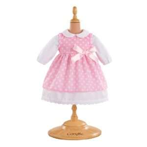 Pink Polka Dot Dress for 14 Baby Toys & Games