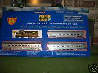 HO SEABOARD AIR LINE F 7 A LOCO & 3 CARS TRAIN SET FLORIDA SPECIAL