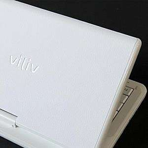 Viliv S7 Laptop Cover Skin [white Leather] Electronics