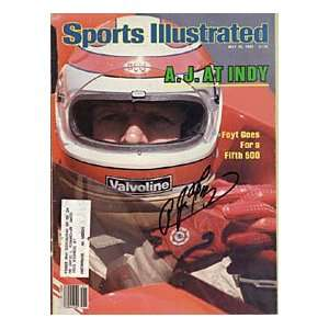 A.J. Foyt Autographed / Signed May 25, 1981 Sports