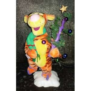 Animated Disney Tigger Christmas Tree Telco Motion ette Doll