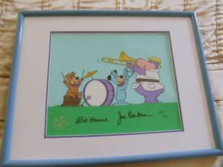 HANNA BARBERA HUCKLEBERRY HOUND HUCK BAND  CELL COA