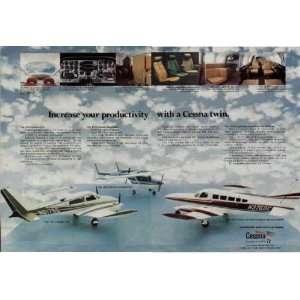1973 Cessna 310, 1973 Cessna Skymasyter, and 1973 Cessna