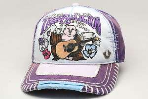 True Religion Cap/Hat TR1506 Purple Adjustable Size One Size Fits All