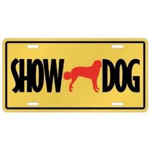 New  Anatolian Shepherd Dog / Show Dog  License Plate