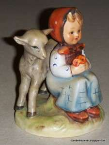 VINTAGE 1950s Good Friends Goebel Hummel Figurine #182 TMK2