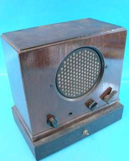 Philco 901 Antique Tube Radio Amp Intercom Station Speaker Mic