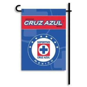 Club Deportivo Social y Cultural   Cruz Azul   13x18 Garden Flag Set