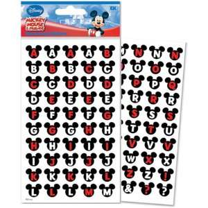 New   Disney Mickey & Friends Alphabet Dimensional Stick