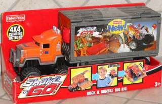 SHAKE N GO ROCK N RUMBLE BIG RIG TRUCK/FISHER PRICE