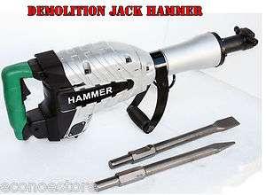 HD 1500W Z1G45E DEMOLITION BREAKER JACK HAMMER CONCRETE