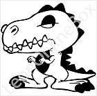 rex look cartoon decal vinyl car wall laptop cellphone