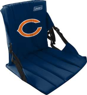 Chicago Bears Stadium Seat NFL Coleman Folding Waterproof Chair New