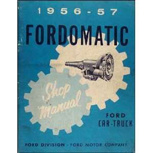 Ford Mercury Meteor Auto Transmission Repair Shop Manual Ford Books