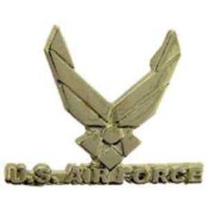 U.S. Air Force Logo Wings Cut Out Pin 1 Arts, Crafts