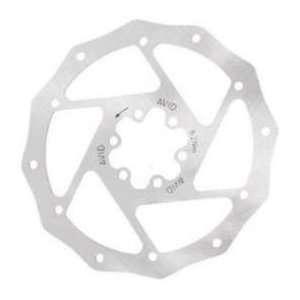 Avid Roundagon Disc Brake Rotor, 185mm x 6 bolt IS Sports