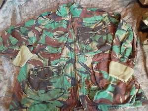 BRITISH DPM paratrooper parachute PARA SMOCK 1980S old style AIRBORNE
