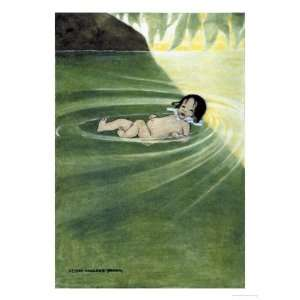 With Nothing On Giclee Poster Print by Jessie Willcox Smith, 18x24