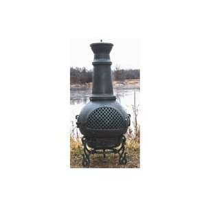 Blue Rooster Gatsby Cast Aluminum Chiminea: Kitchen
