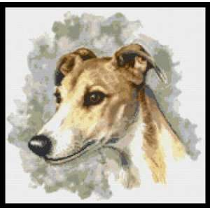 Greyhound Counted Cross Stitch Kit: Everything Else