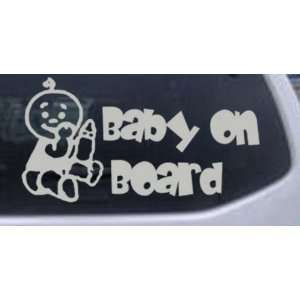 Baby On Board (Boy) Car Window Wall Laptop Decal Sticker