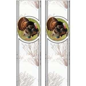 Oak Brush Rear Quarter Panel Graphics Kit with Wild Turkey: Automotive