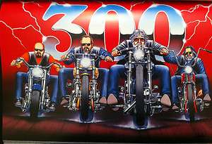 David Mann Art Issue 300 Riders Easyriders Print Harley Davidson H D
