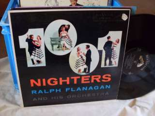 Ralph Flanagan LP Nighters rare swing jazz Big Band 50s