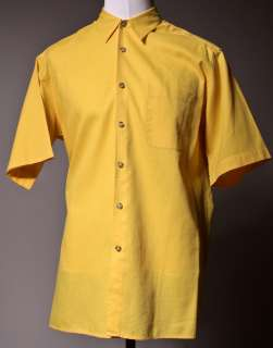 Mens Casual Shirts ANGELO LITRICO yellow