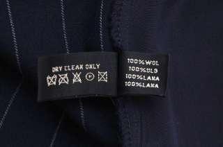 NWT $598 RALPH LAUREN ~Black Label WOOL PANTS ~NAVY *10