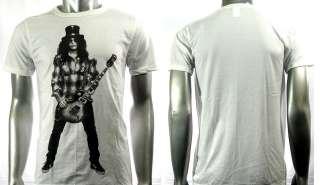 Slash Gun n Roses Rock Band Guitar Music T shirt Sz M Punk