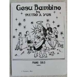 Gesu Bambino   Pastorale. For Piano Solo (Medium