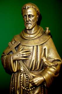 REPRODUCTION SAINT FRANCIS ASSISI STATUE GARDEN 17089