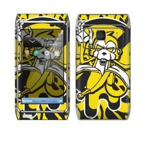 Monkey Banana Decorative Skin Cover Decal Sticker for Nokia N8 cell