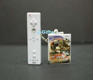 Nintendo Wii Control Console Game Disc Keychain Excite Truck