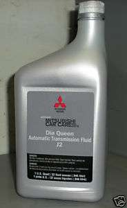 Mitsubishi Dia Queen J2 Automatic Transmission Fluid ATF 4 Quarts