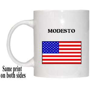 US Flag   Modesto, California (CA) Mug: Everything Else
