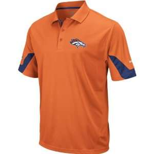 Denver Broncos 2010 Orange Sideline Team Polo Shirt