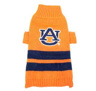 Auburn University Tigers Official NCAA Sweater for Dogs