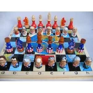 politic Presidents USA USSR Russia Set * 29 x 30 x 4 cm Item # chs 9