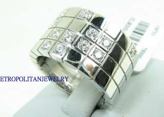 18k white gold diamond ring cartier laniers sty