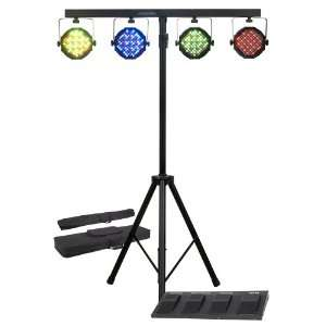 com American DJ Supply Mega Par Profile System Bright LED Stage Wash