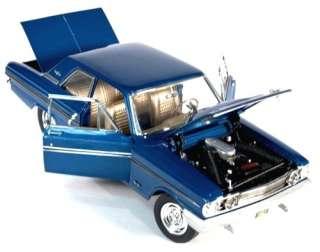 AUTOWORLD ERTL AMM944 118 1964 FORD THUNDERBOLT BLUE DIECAST MODEL