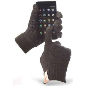 Touch Gloves with Anti Slip Silicone Rubber for iPhone, Android Phones