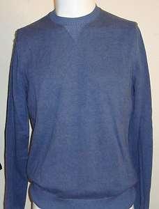BANANA REPUBLIC Crew Pullover SWEATER Shirt Mens (Gray/Blues or Orange