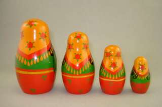 Vintage Russian Nesting Dolls *USSR* for Collectors*NOS