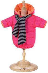 Corolle Baby Doll Winter Coat fits 14 dolls