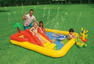 Ocean Play Center Kids Inflatable Wading Pool 078257574544